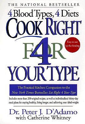 Cook-Right-4-Your-Type-D-Adamo-Peter-J-9780425173299