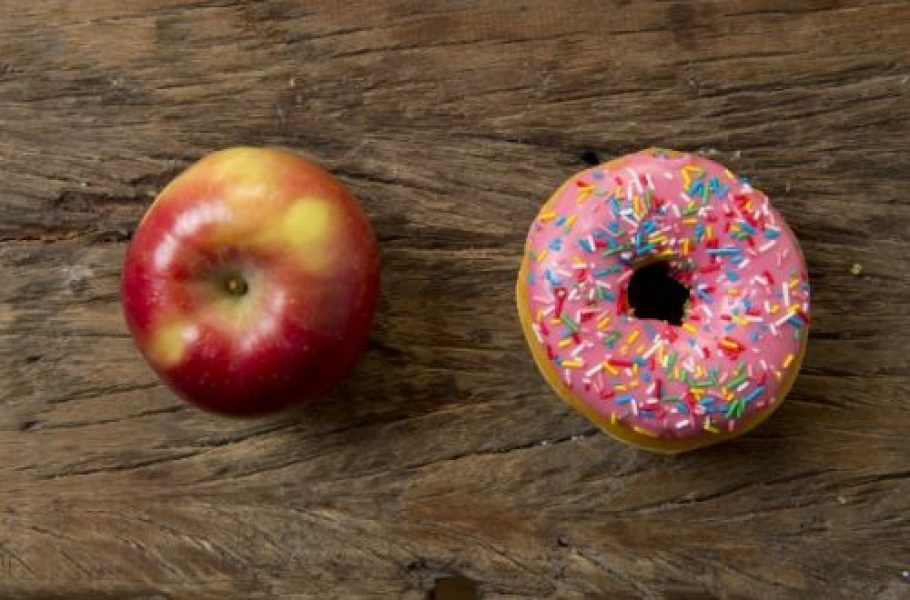 apple-donut